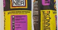 КЕНЕР МУ-1 смесь кладочная для газобетона