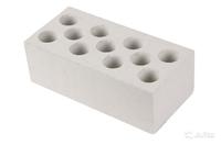 Кирпич силикатный белый рядовой пустотелый