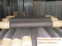 Сетка рабица оцинковка (35х35) 1,5*10м Херсон